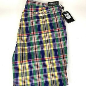 Polo Ralph Lauren Mens RLX Golf Shorts Plaid - 40
